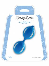 CANDY BALLS TOFFEE BLUE