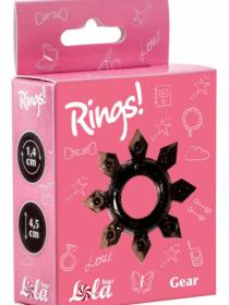 Cockring Rings Gear black